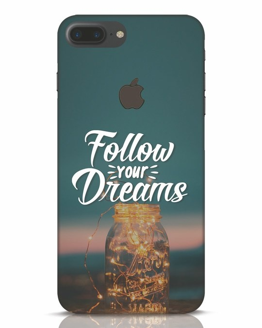 Shop Dreams To Be Followed iPhone 7 Plus Logo Cut Mobile Cover-Front
