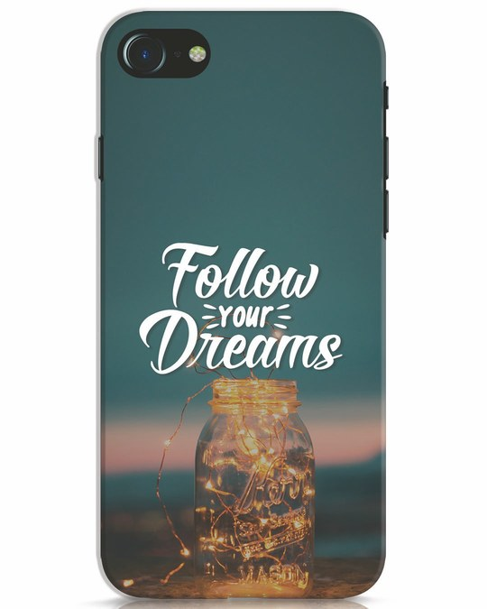 Shop Dreams To Be Followed iPhone 8 Mobile Cover-Front