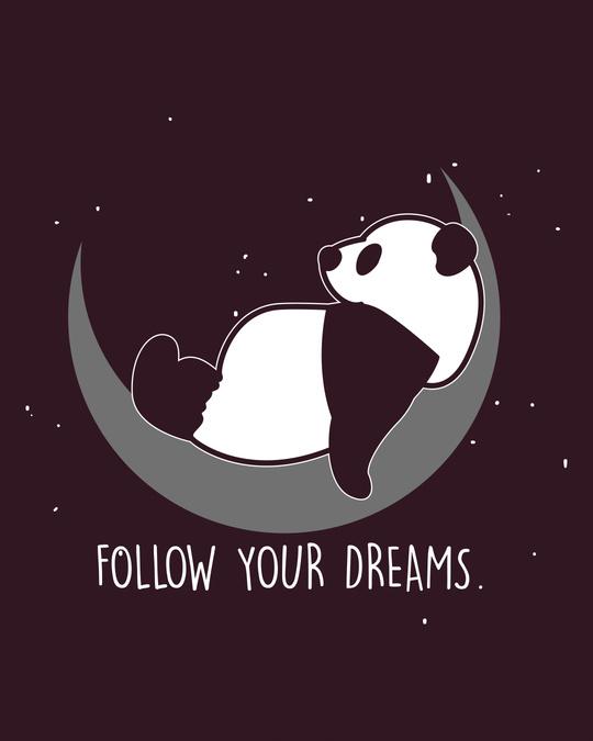 Shop Dreamy Panda Boyfriend T-Shirt