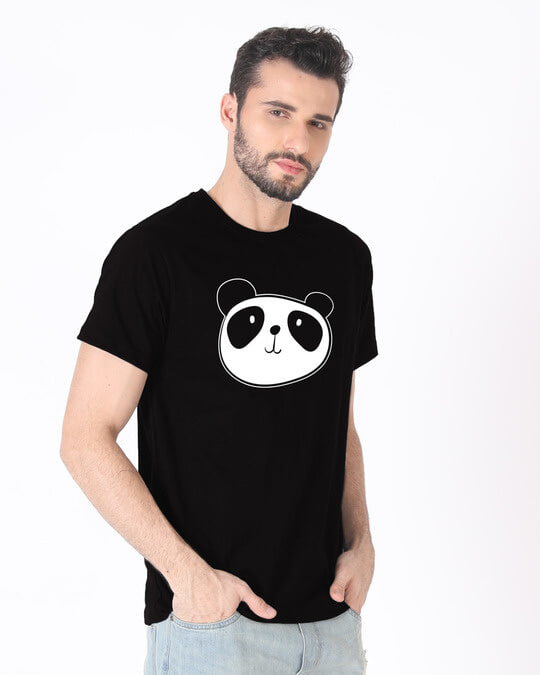 Shop Dress Up Panda Half Sleeve T-Shirt-Full