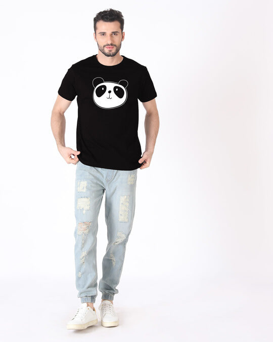 Shop Dress Up Panda Half Sleeve T-Shirt