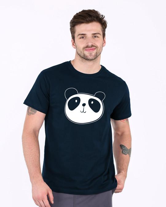 Shop Dress Up Panda Half Sleeve T-Shirt-Back