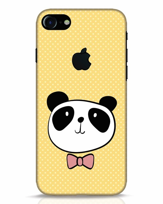 Shop Dressy Panda iPhone 7 Logo Cut Mobile Cover-Front