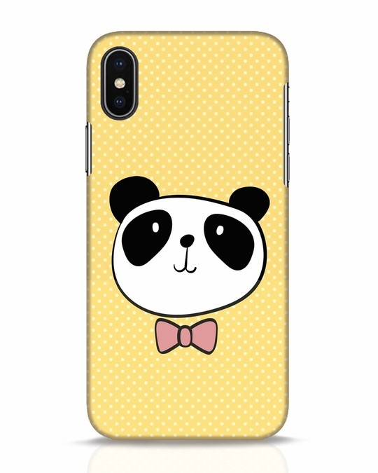 Shop Dressy Panda iPhone X Mobile Cover-Front