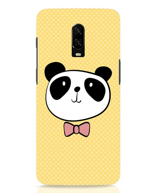 Shop Dressy Panda OnePlus 6T Mobile Cover-Front
