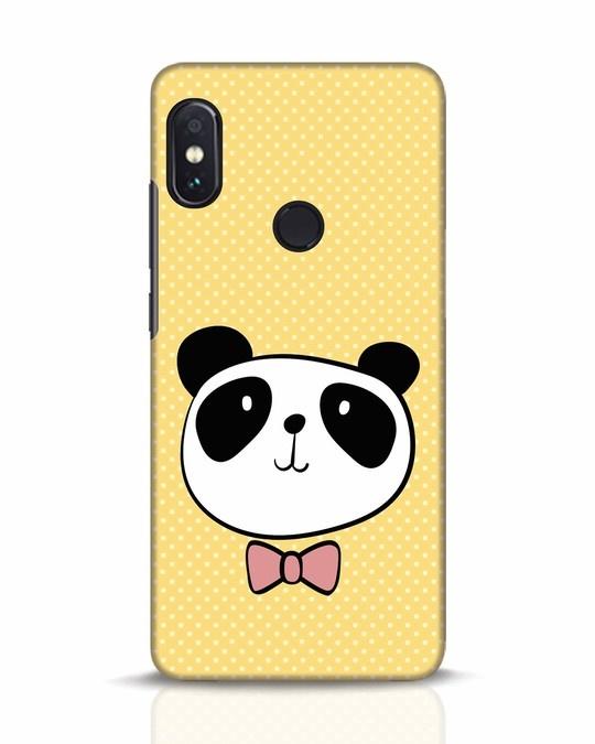 Shop Dressy Panda Xiaomi Redmi Note 5 Pro Mobile Cover-Front