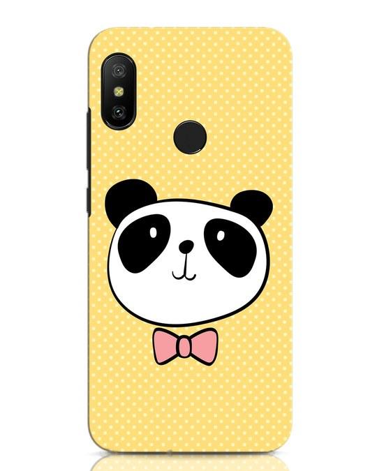 Shop Dressy Panda Xiaomi Redmi Note 6 Pro Mobile Cover-Front