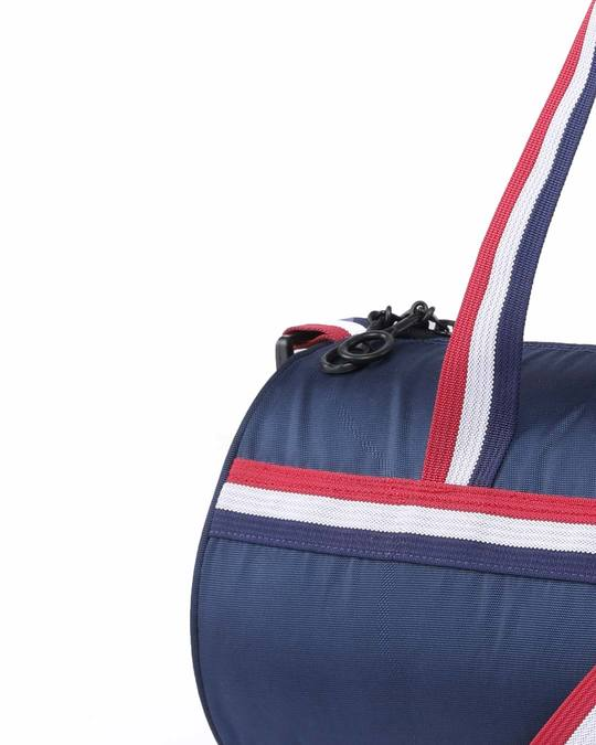 Shop Dribble Blue Duffle Bag-Full
