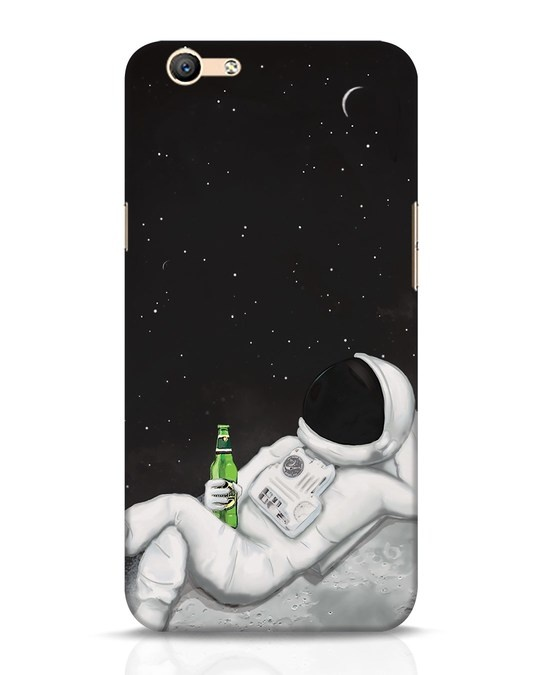Shop Drinking Astronaut Oppo F1s Mobile Cover-Front