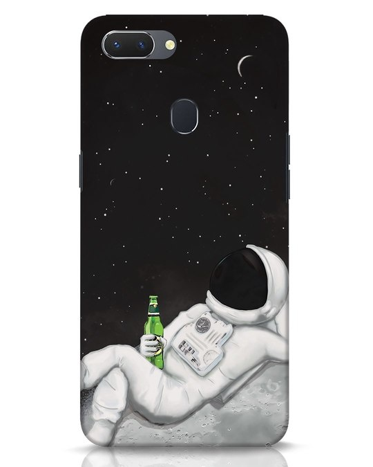 Shop Drinking Astronaut Realme 2 Mobile Cover-Front