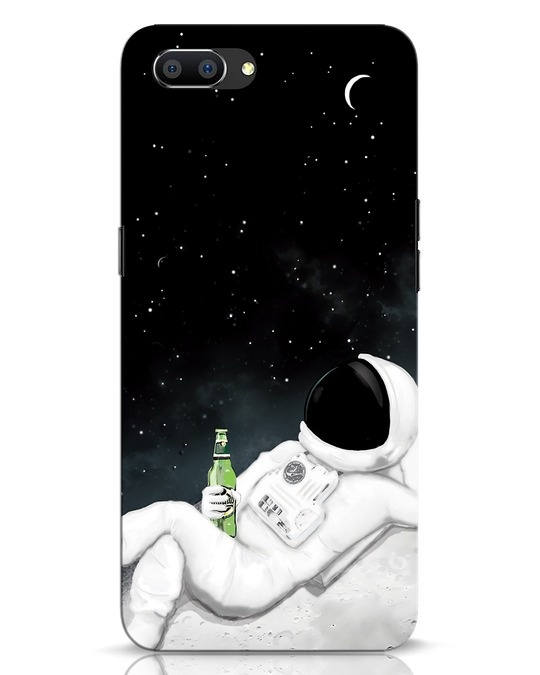 Shop Drinking Astronaut Realme C1 Mobile Cover-Front
