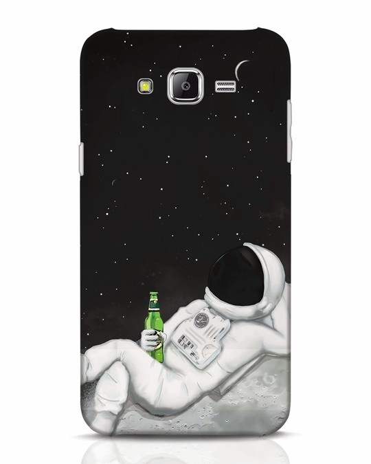 Shop Drinking Astronaut Samsung Galaxy J7 Mobile Cover-Front