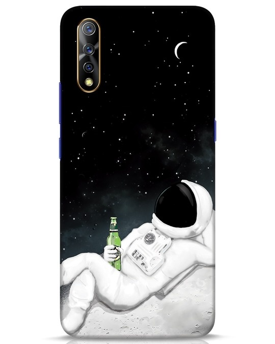 Shop Drinking Astronaut Vivo S1 Mobile Cover-Front