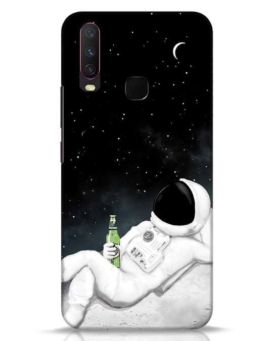 Shop Drinking Astronaut Vivo Y17 Mobile Cover-Front