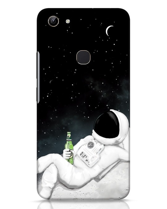 Shop Drinking Astronaut Vivo Y81 Mobile Cover-Front