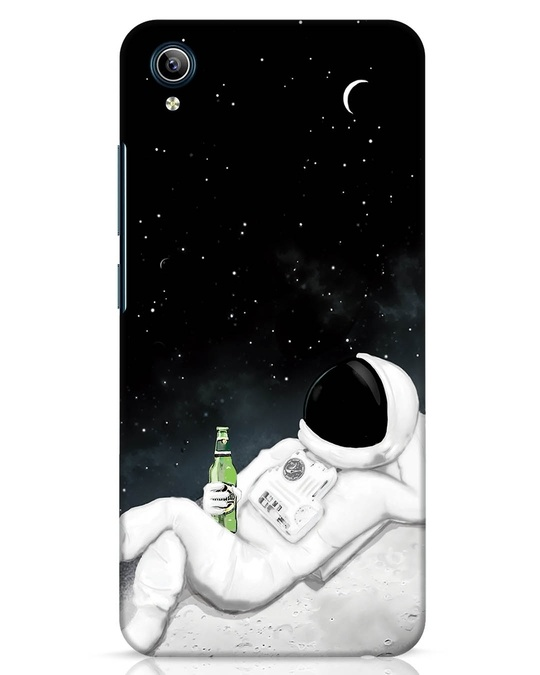 Shop Drinking Astronaut Vivo Y91i Mobile Cover-Front