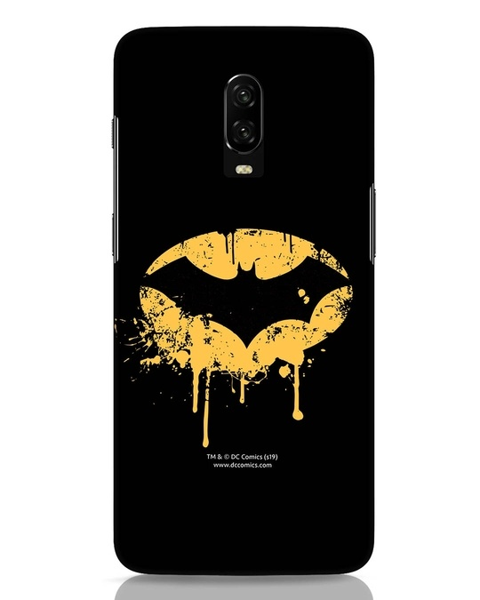 Shop Dripping Batman OnePlus 6T Mobile Cover (BML)-Front