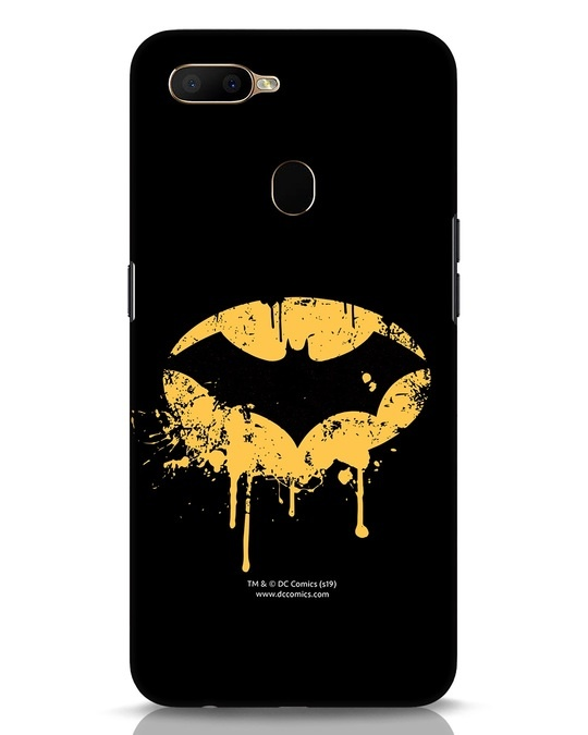Shop Dripping Batman Oppo A5s Mobile Cover (BML)-Front