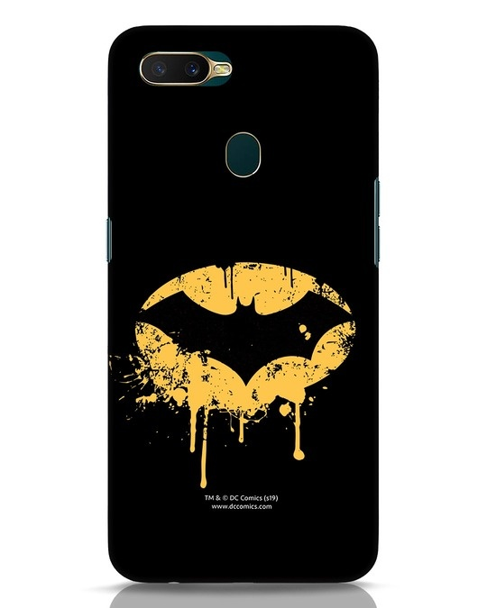 Shop Dripping Batman Oppo A7 Mobile Cover (BML)-Front
