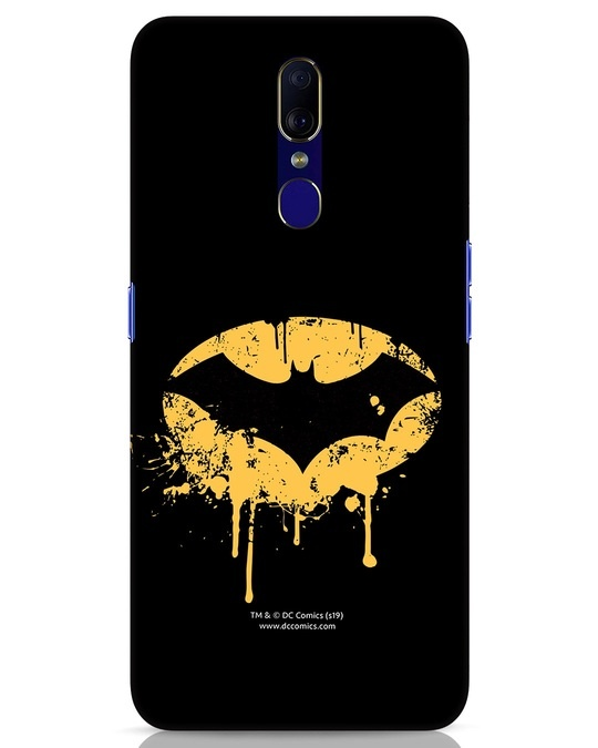 Shop Dripping Batman Oppo F11 Mobile Cover (BML)-Front