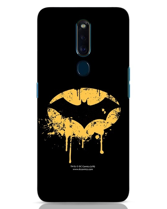 Shop Dripping Batman Oppo F11 Pro Mobile Cover (BML)-Front