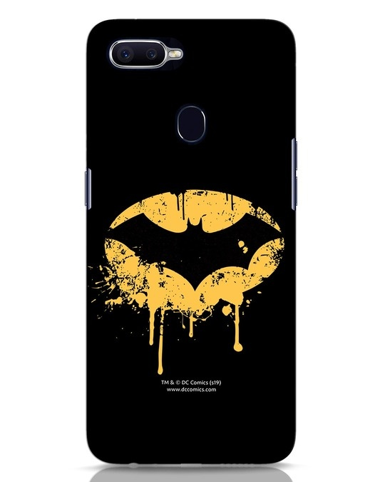 Shop Dripping Batman Oppo F9 Pro Mobile Cover (BML)-Front