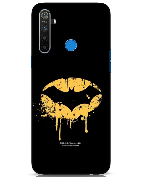 Shop Dripping Batman Realme 5 Mobile Cover (BML)-Front