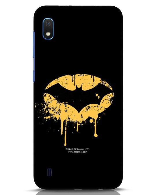 Shop Dripping Batman Samsung Galaxy A10 Mobile Cover (BML)-Front