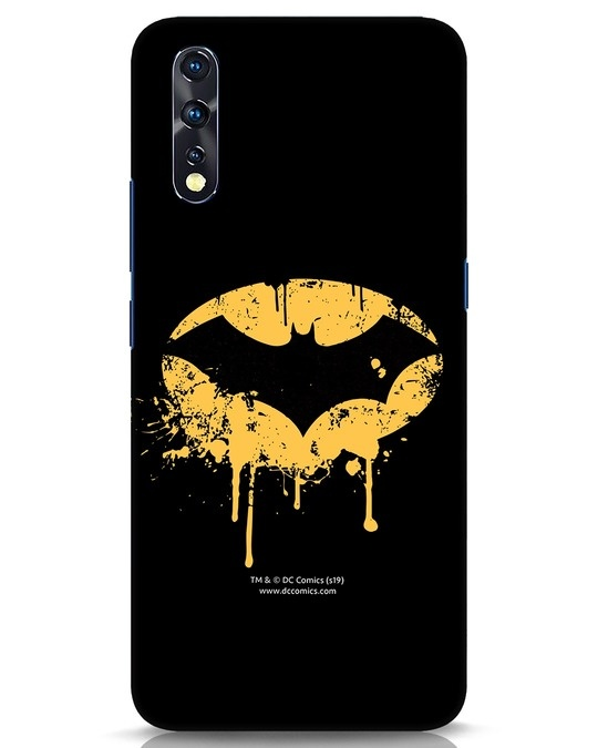 Shop Dripping Batman Vivo Z1x Mobile Cover (BML)-Front