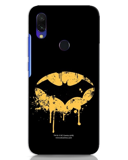 Shop Dripping Batman Xiaomi Redmi 7 Mobile Cover (BML)-Front