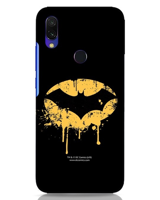 Shop Dripping Batman Xiaomi Redmi Y3 Mobile Cover (BML)-Front