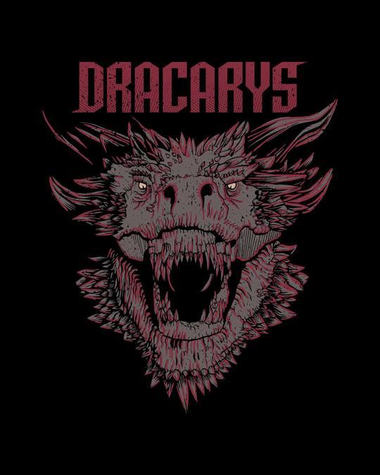 Shop Drogon Dracarys Full Sleeve T-Shirt (GTL)