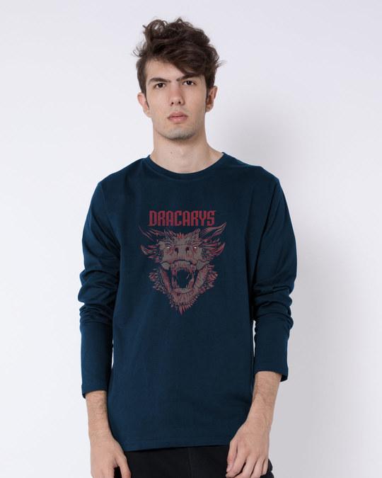 Shop Drogon Dracarys Full Sleeve T-Shirt (GTL)-Front