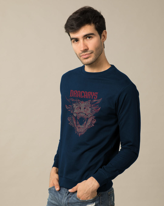 Shop Drogon Dracarys Sweatshirt (GTL)-Back