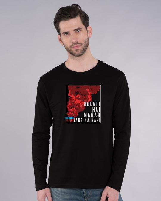 Shop Drop Bulati Hai Full Sleeve T-Shirt-Front