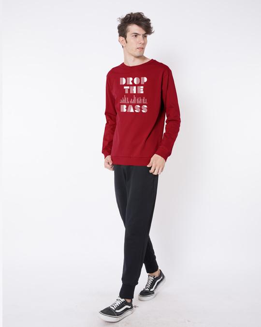 Shop Drop The Bass Fleece Light Sweatshirt-Design