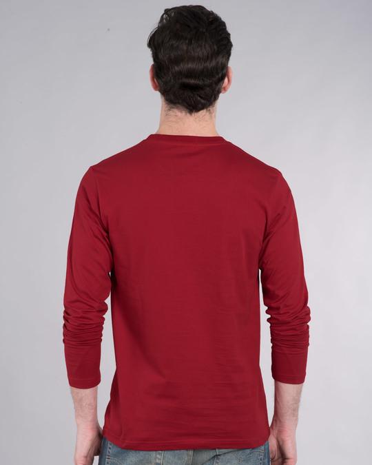 Shop Drop The Bass Full Sleeve T-Shirt-Back