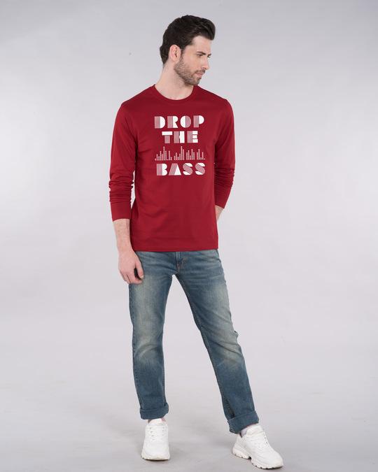 Shop Drop The Bass Full Sleeve T-Shirt-Design