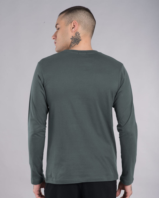 Shop Drop The Bass Full Sleeve T-Shirt-Back