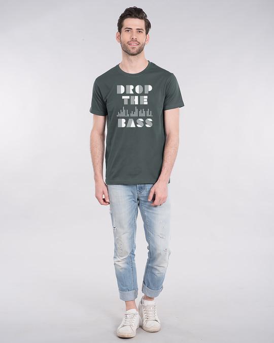 Shop Drop The Bass Half Sleeve T-Shirt-Design