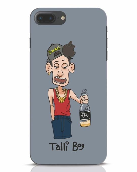 Shop Drunk Boy iPhone 7 Plus Logo Cut Mobile Cover-Front