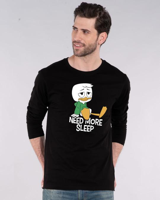 Shop Duck Tales Need Sleep Full Sleeve T-Shirt (DL)-Front
