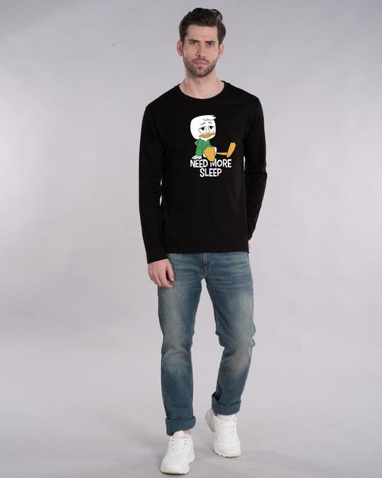 Shop Duck Tales Need Sleep Full Sleeve T-Shirt (DL)-Design