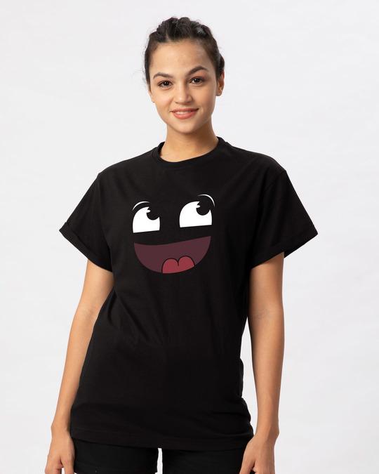 Shop Dumass Boyfriend T-Shirt-Front