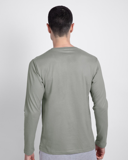 Shop Dumbbell Therapy Full Sleeve T-Shirt-Back