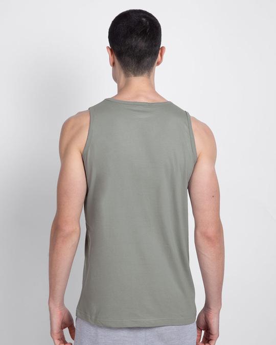 Shop Duo Round Neck Vest Meteor Grey (TJL)-Design