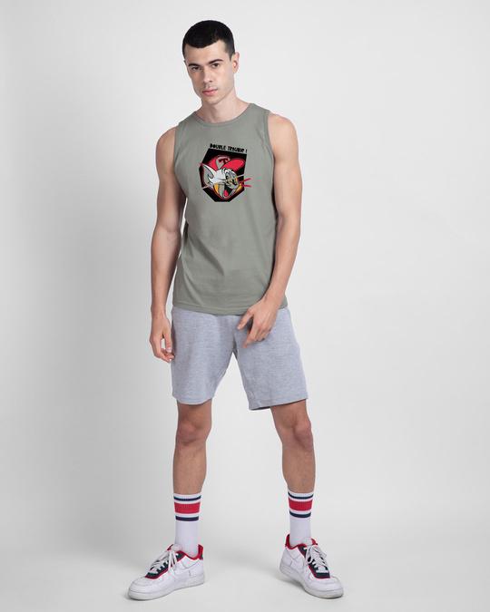 Shop Duo Round Neck Vest Meteor Grey (TJL)-Full