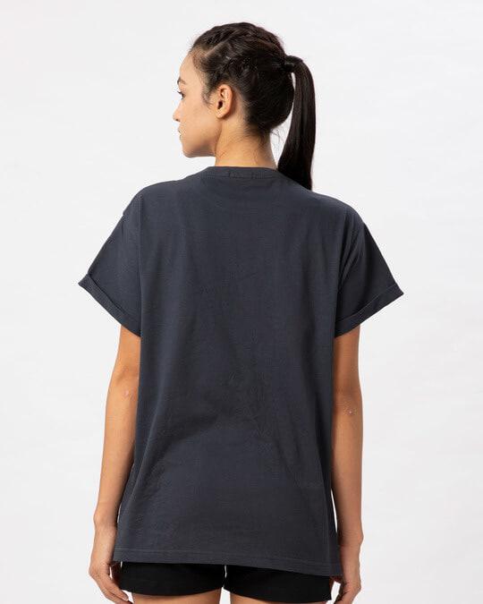 Shop Durga Maa Boyfriend T-Shirt-Full