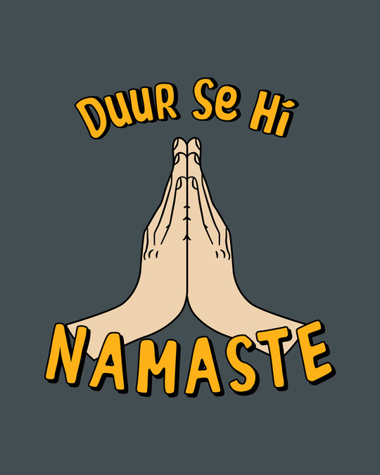 Shop Durr Se Namaste Full Sleeve T-Shirt