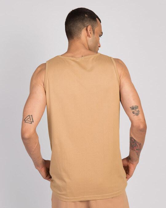 Shop Dusty Beige Vest-Full
